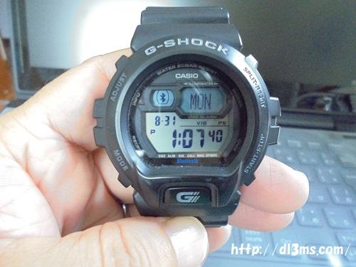 カシオの腕時計 G-SHOCK Bluetooth ver4.0対応を使ってます。