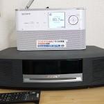 録音できるラジオ買いました