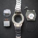 【衝撃】カシオの腕時計の裏蓋のパッキンを交換しようとしたが